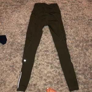 lululemon athletica Pants - Camo green leggings